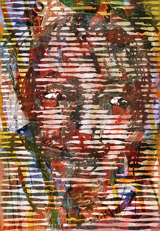 Collage Digital Art - Jealousy by Haruo Obana