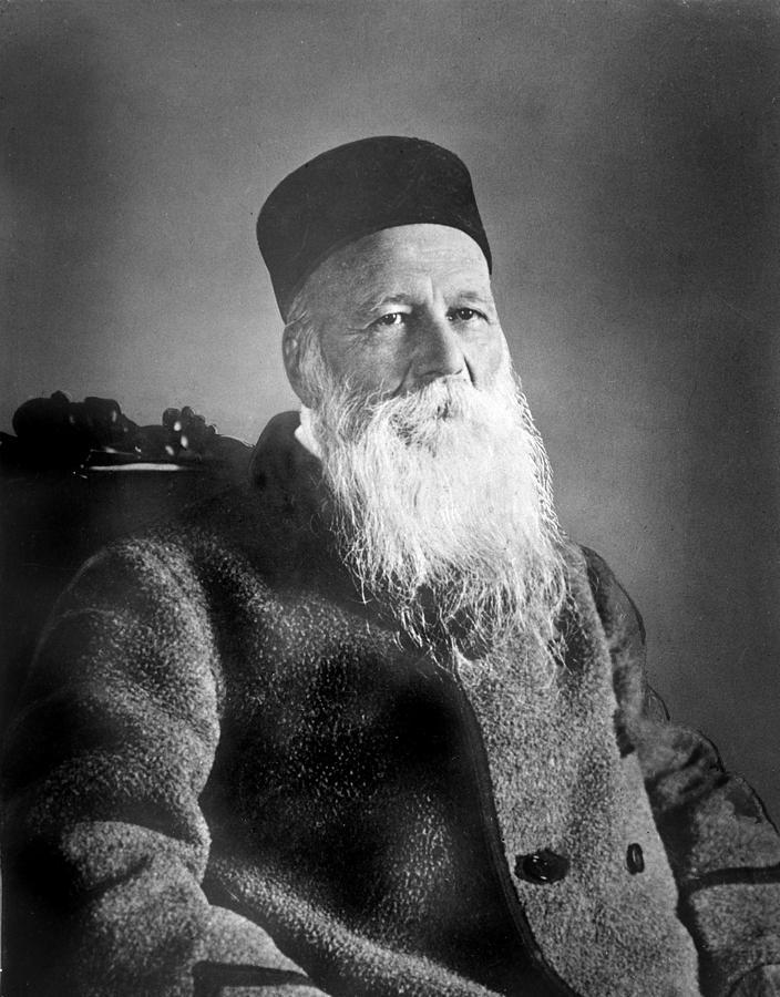 History Photograph - Jean Henri Dunant 1828-1910 Swiss by Everett
