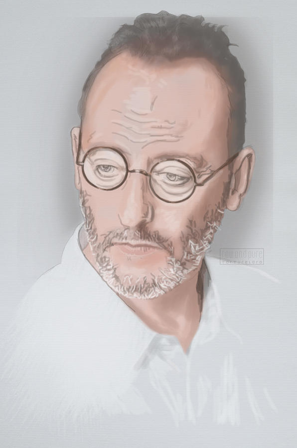 2016 Mixed Media - Jean Reno by TortureLord Art