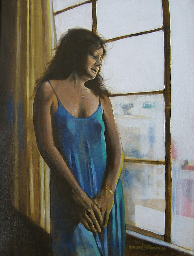 Jeanette Painting by Howard Stroman