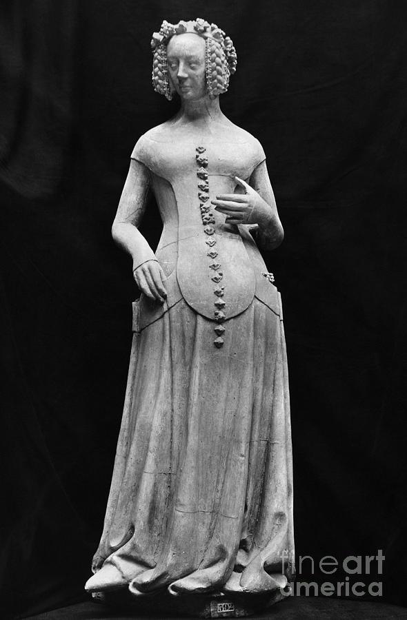 15th Century Photograph - Jeanne II Dauvergne by Granger