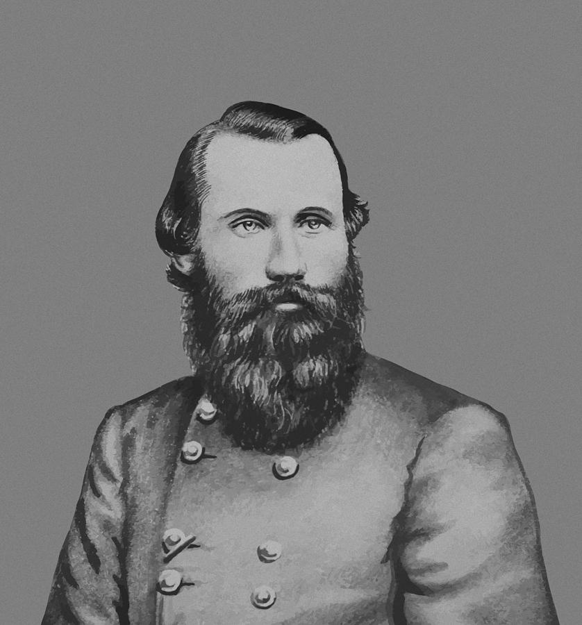 Jeb Stuart Painting - Jeb Stuart -- Confederate General by War Is Hell Store