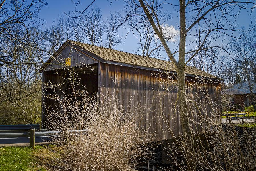 Jediah Hill Covered Bridge Photograph