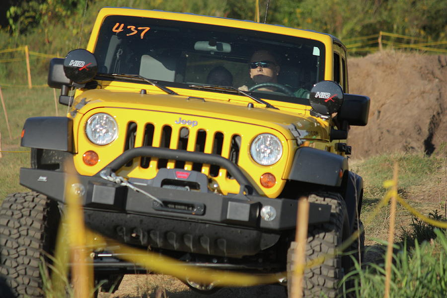 Jeep Photograph - Jeep Into The Sunshine by Jamie Smith