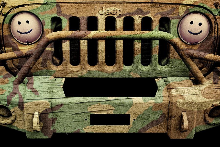 Jeep Photograph - Jeep Jk Camo by Luke Moore