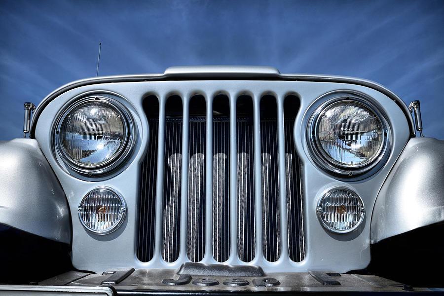 Jeep Photograph - Jeep Life - Blue Sky Cj by Luke Moore