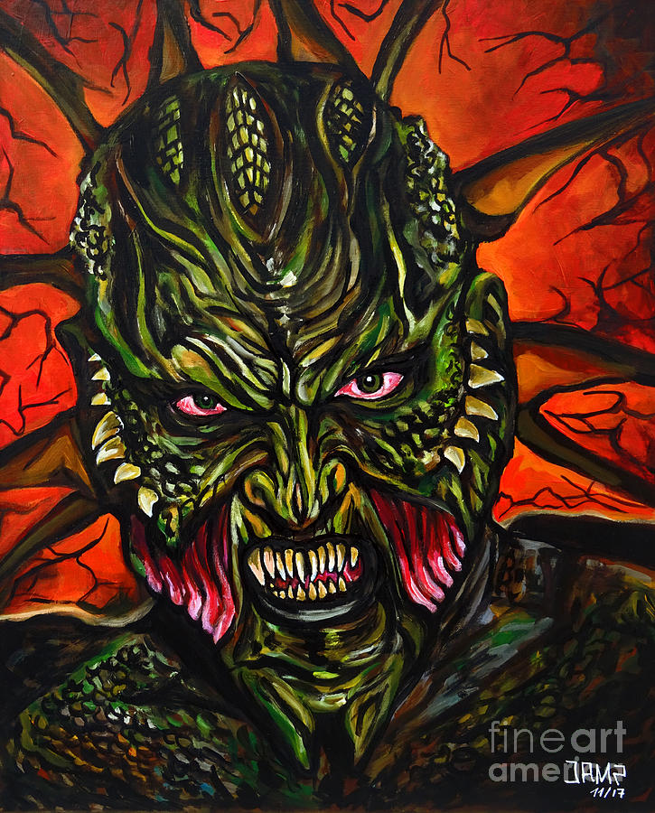 Jeepers Creepers Painting - Jeepers Creepers  by Jose Mendez