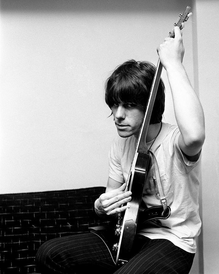 Jeff Beck 1966 Yardbirds by Chris Walter