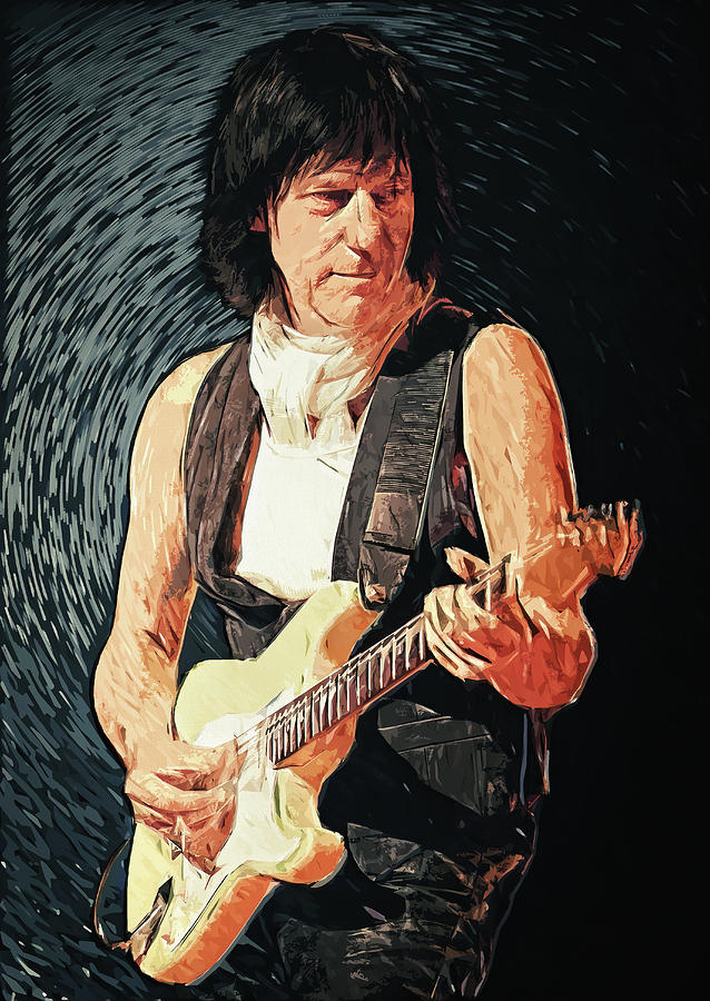 Jeff Beck Painting
