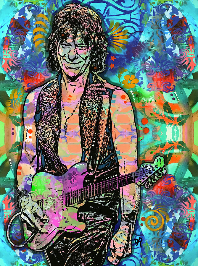 Jeff Beck WIRED by Dean Russo Art