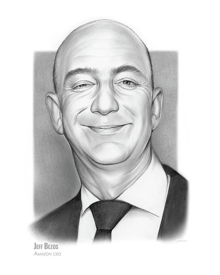 Jeff Bezos Drawing