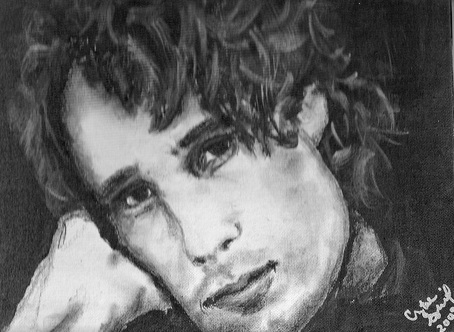 Jeff Buckley Painting - Jeff Buckley by Crystal  Rickman