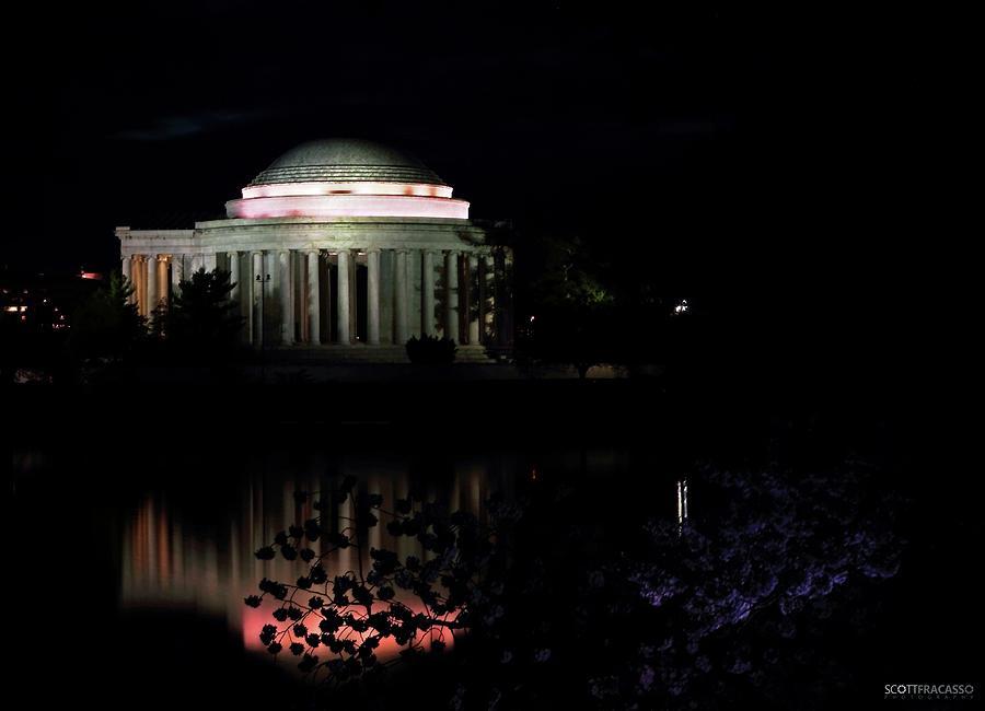 Jefferson At Night Photograph by Scott Fracasso