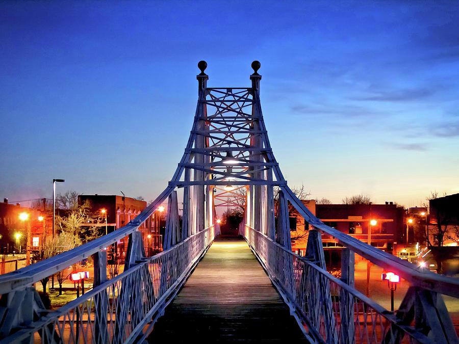 Jefferson Avenue Footbridge Photograph
