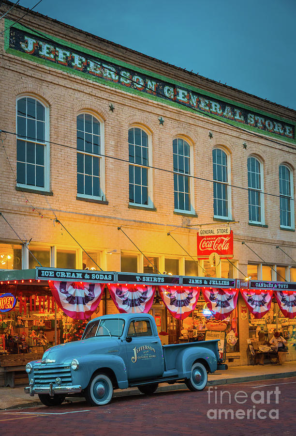 America Photograph - Jefferson General Store by Inge Johnsson