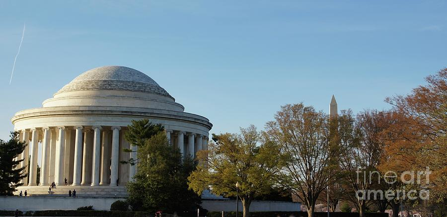 Jefferson Memorial Photograph - Jefferson Memorial by Megan Cohen