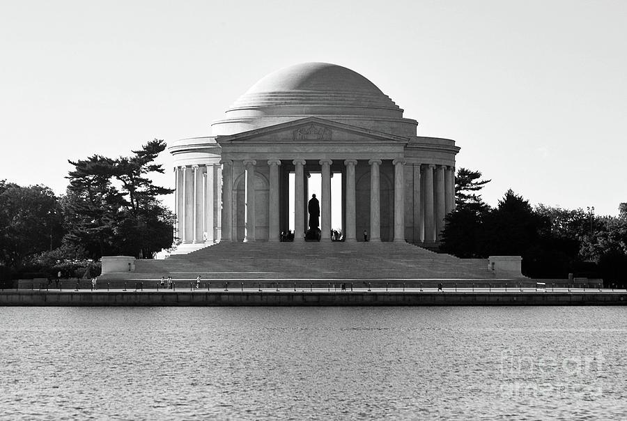 Jefferson Memorial Washington Dc Photograph