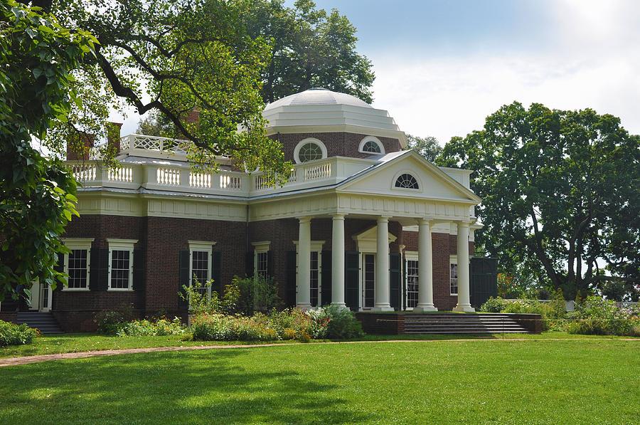 Monticello Photograph - Jeffersons Monticello by Bill Cannon