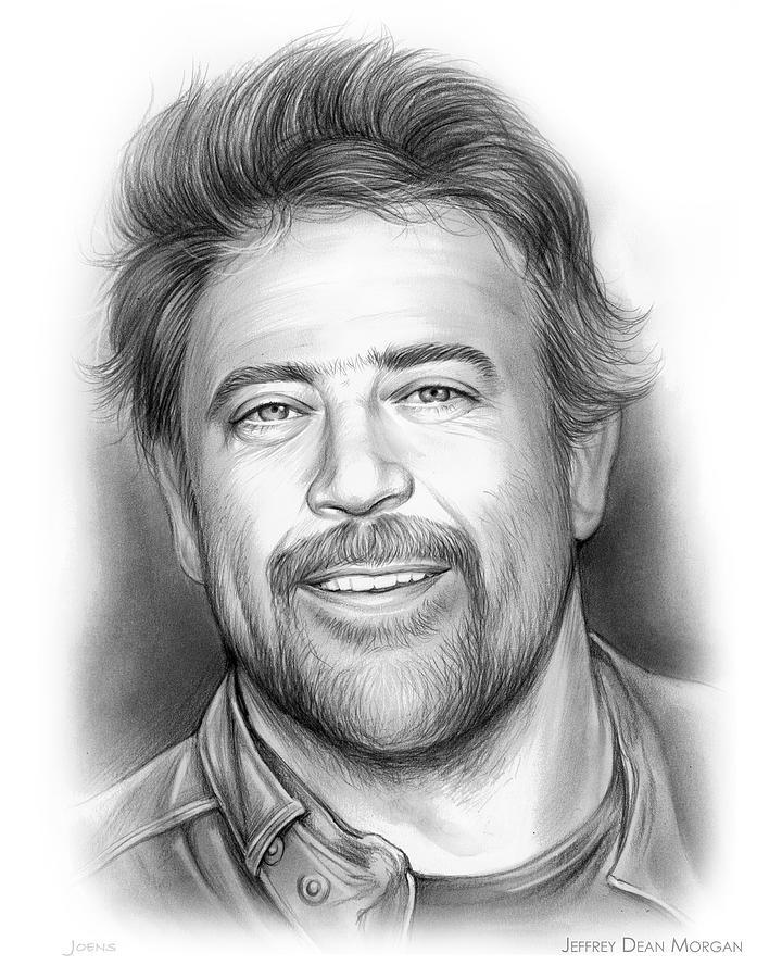 Jeffrey Dean Morgan Drawing