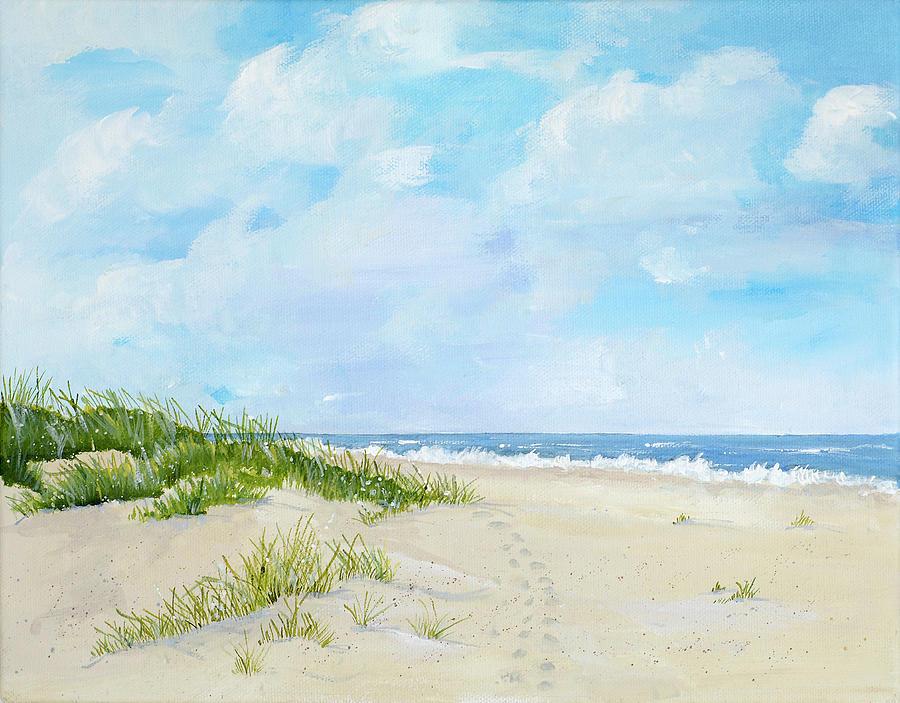 Jekyll Island Beach Painting