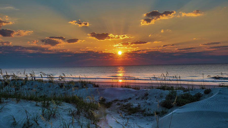 Jekyll Island Sunrise by Louis Dallara