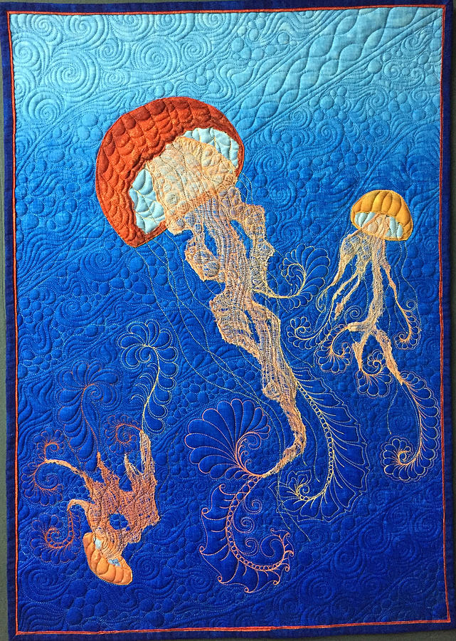 Jellies of the Sea by Jo Baner