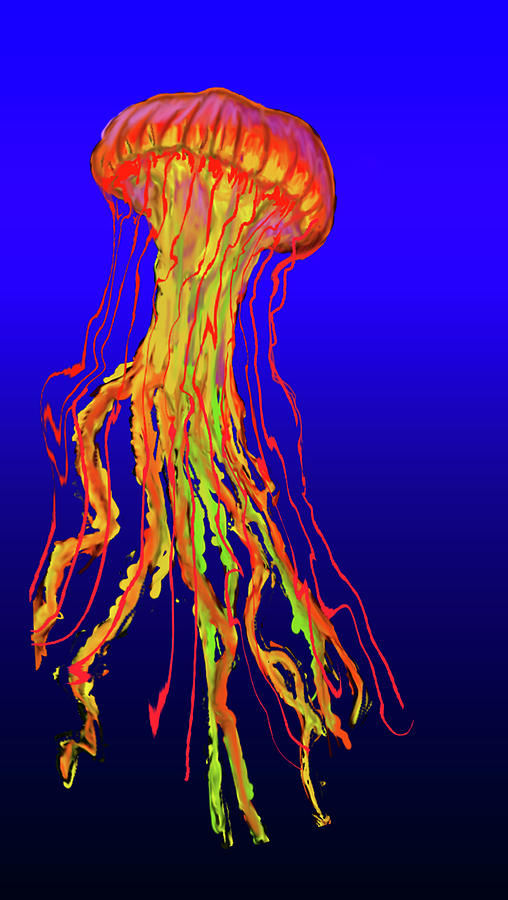 Jelly Painting - Jelly1 by Martin Hardy