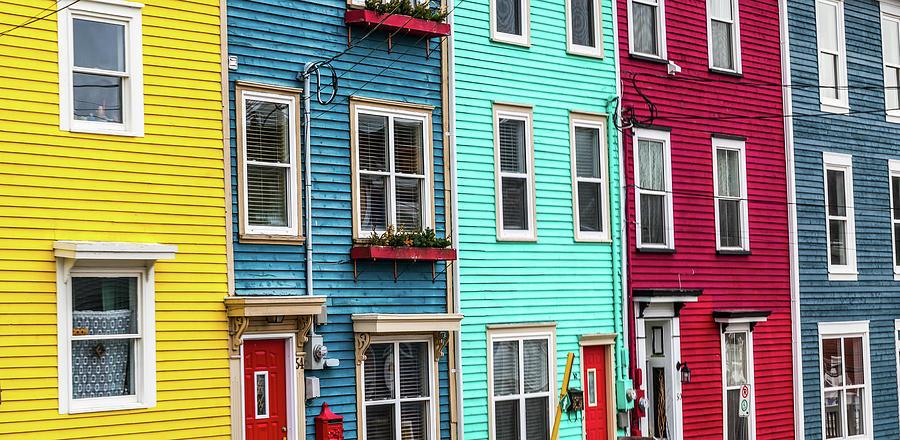 Jelly Bean Row >> Jellybean Row St John S Newfoundland By Mike Organ