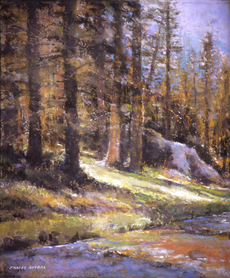 Landscape Painting - Jemez Light by James Roybal