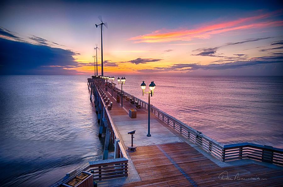 Jennettes Pier - Dawn 7080 Photograph