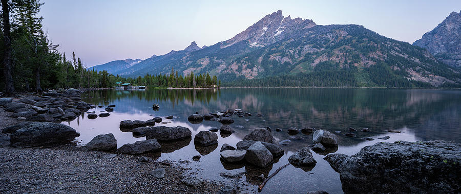 Jenny Lake Dawn by Adam Pender