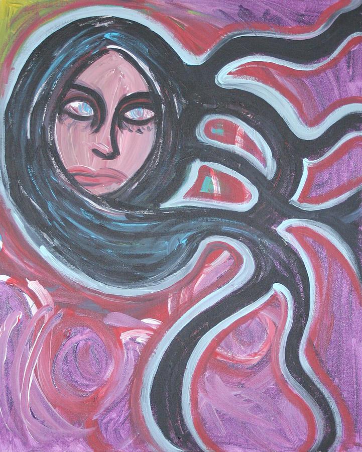 Woman Painting - Jenovyn by Jessica Kauffman