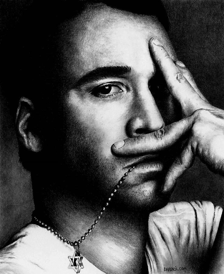 Jeremy Piven Drawing - Jeremy Piven by Rick Fortson