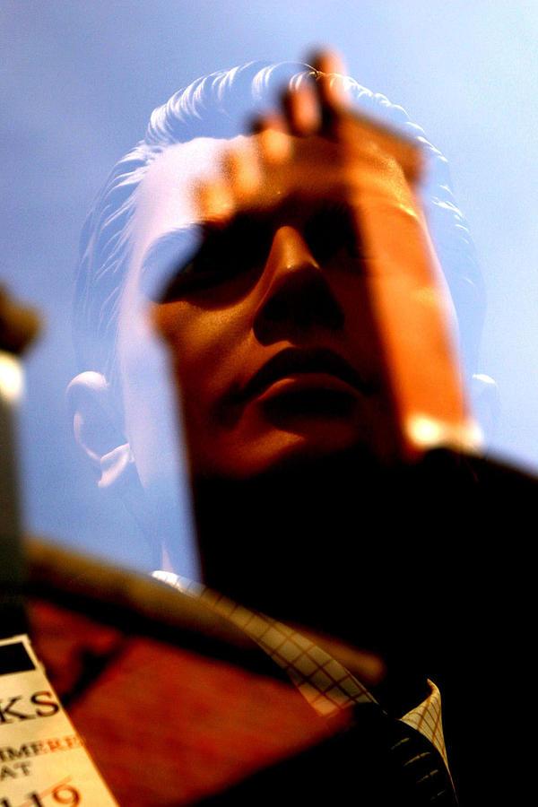 Photographer Photograph - Jeremy Scared by Jez C Self