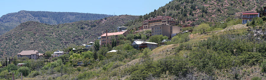 Town Photograph - Jerome Az by Gregory Jeffries