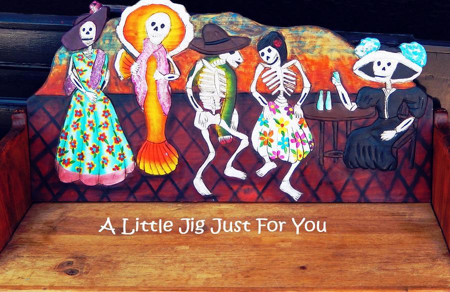 Jerome Ghosts A Little Jig Card Photograph