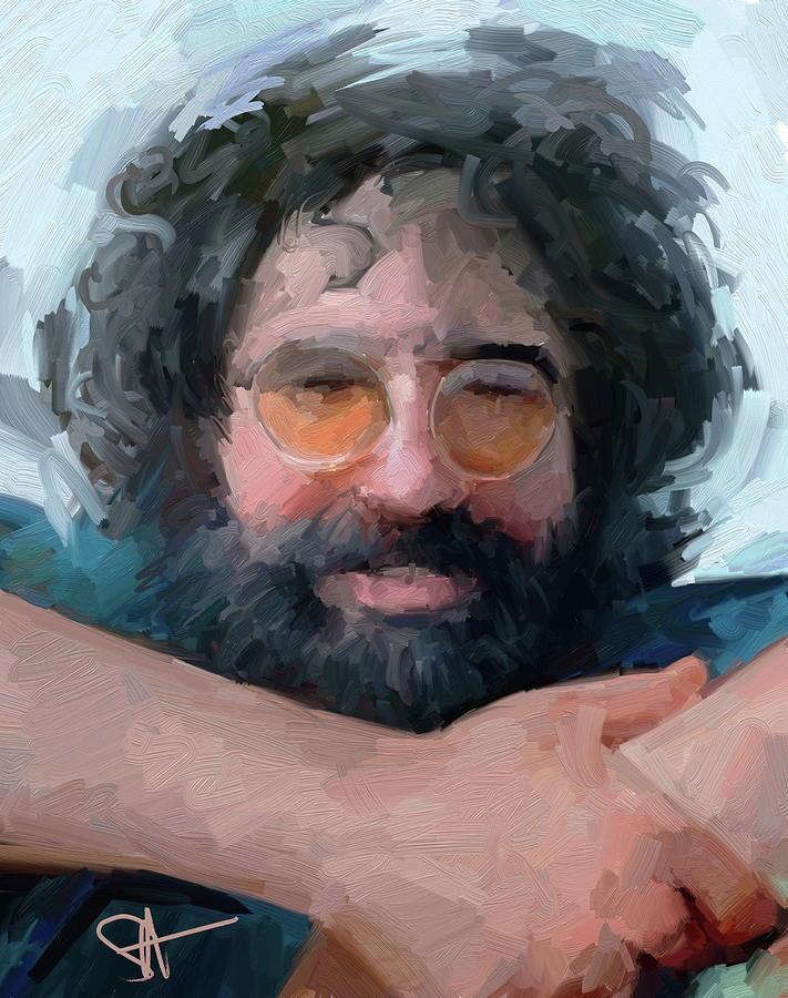 Jerry Digital Art - Jerry by Scott Waters