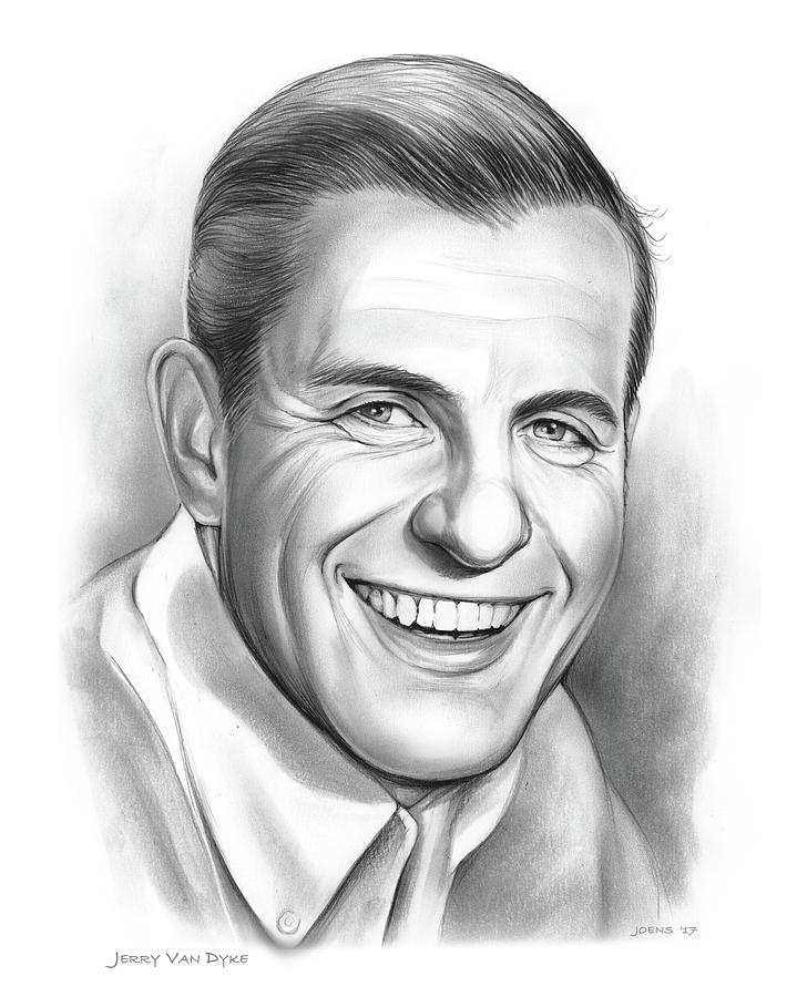 Jerry Van Dyke Drawing