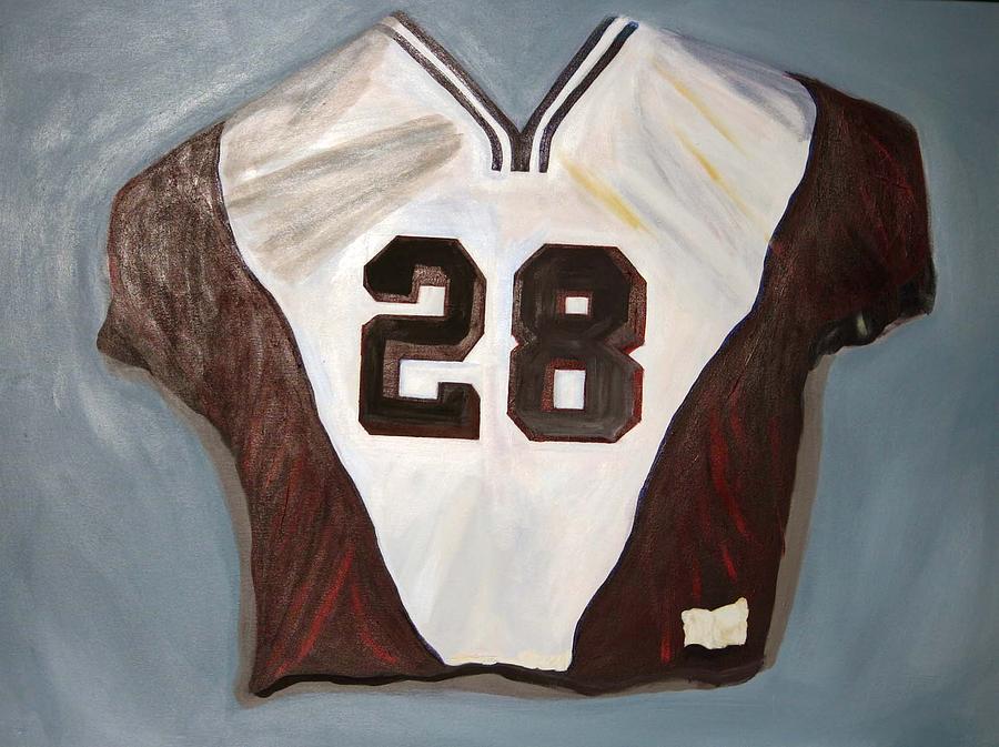 Sports Painting - Jersey Boy by Gigi Desmond