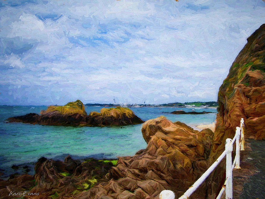 Jersey by St Brolade by Karo Evans