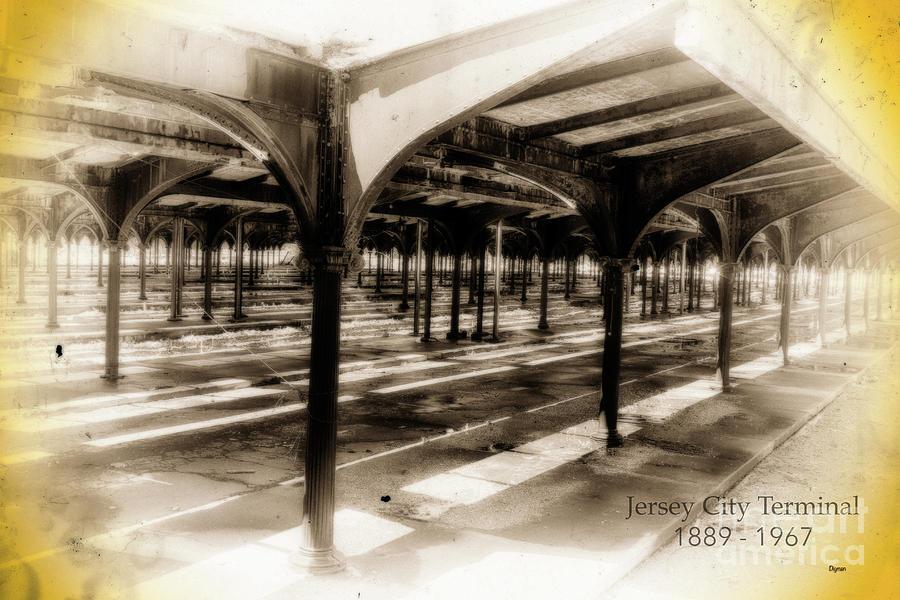 Trains Photograph - Jersey City Terminal  by Steven Digman