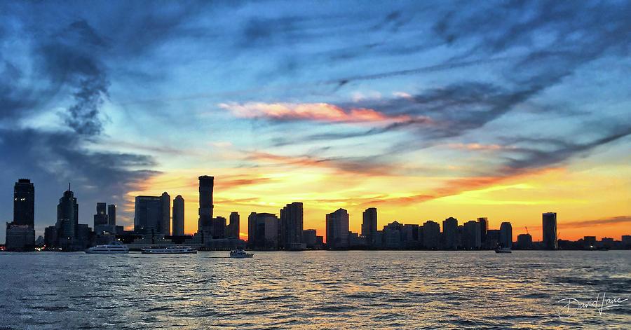 Jersey Skyline by David A Lane