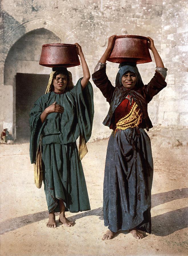 Milk Photograph - Jerusalem - Milk Seller by Munir Alawi