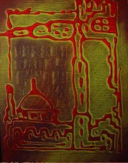 Jerusalem Painting - Jerusalem 5 by Marwan Al-Allan