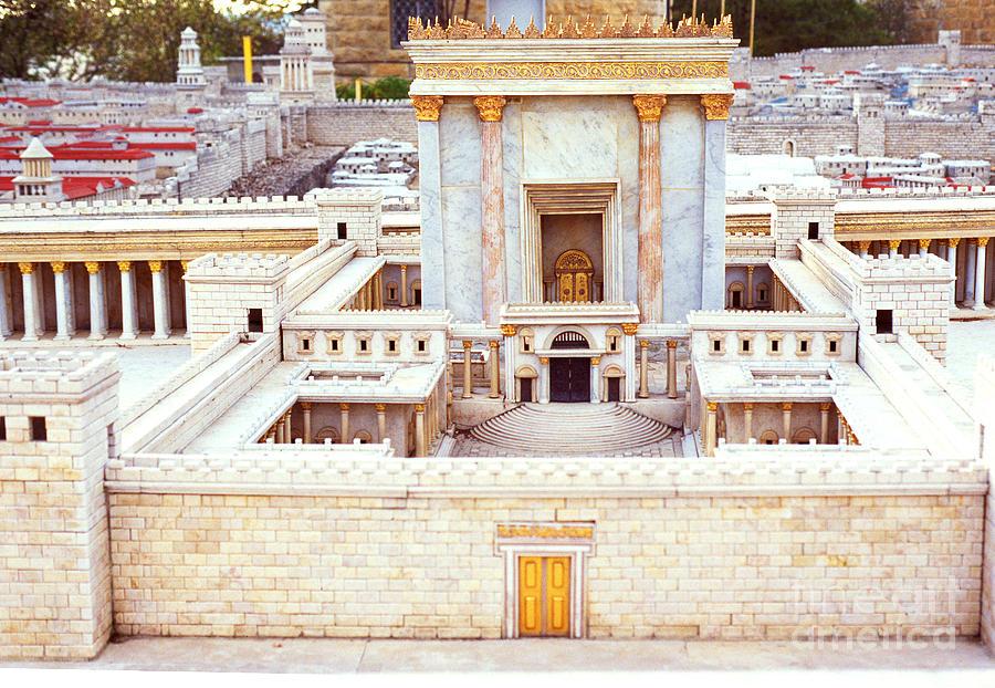 Jewish Temple Photograph - Jerusalem 70 Ad by Thomas R Fletcher