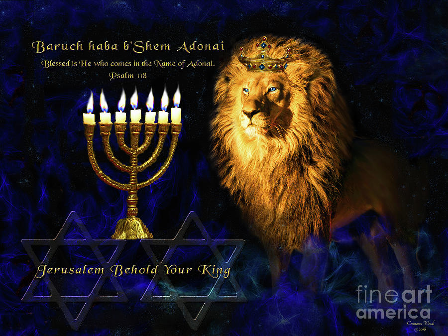 Jerusalem Behold Your King by Constance Woods