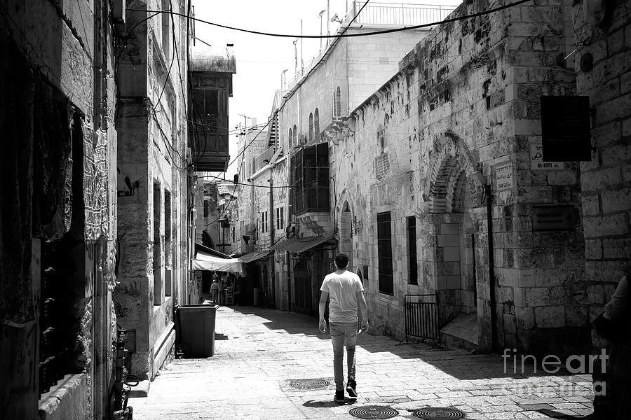 Jerusalem Freeze Frame Photograph by John Rizzuto