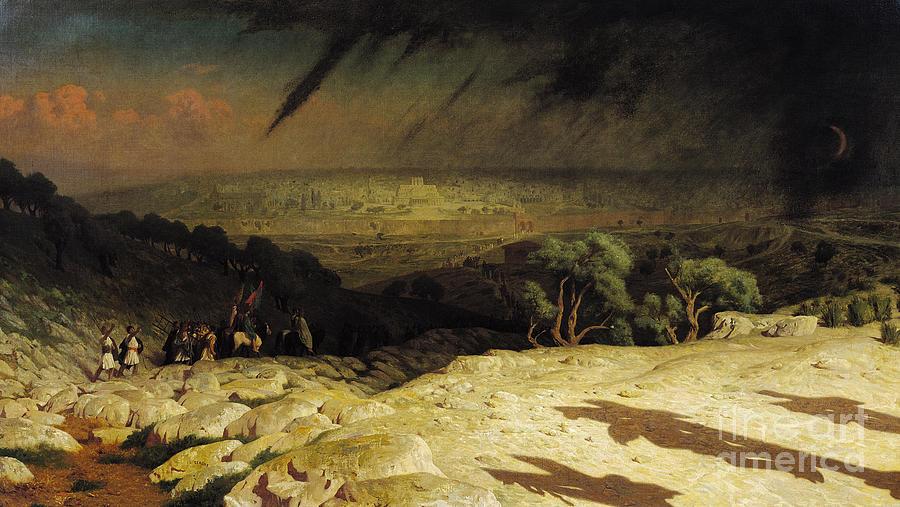 Jerusalem Painting - Jerusalem by Jean Leon Gerome