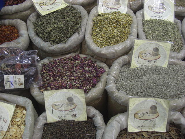 Jerusalem Old City spices by Liliane DUMONT-BUIJS