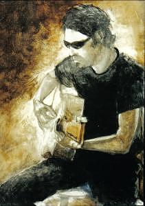 Figure Painting - Jesse 2 by John L Campbell